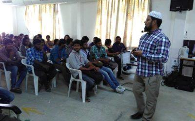 Technical Seminar @ Vasavi College of Engineering, Hyd.