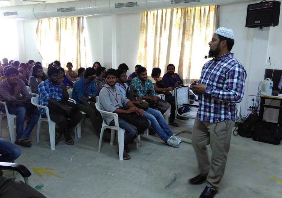 Technical Seminar @ Vasavi College of Engineering, Hyd.
