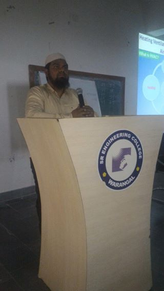 HVAC Technical Seminar-S R Engineering College